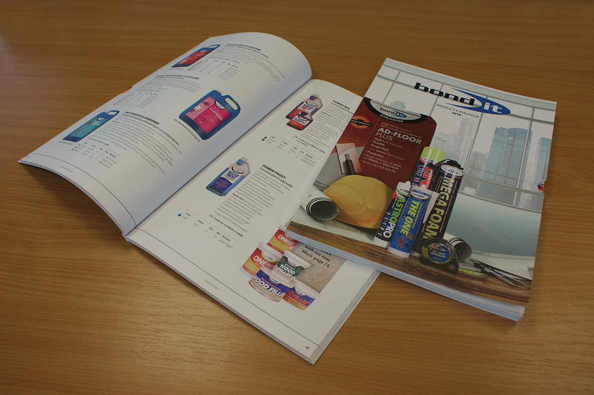 500 products. One invaluable resource. Manufacturer of sealants, adhesives and building chemicals, Bond It has published a new 112-page product catalogue.