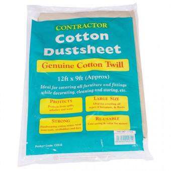 Heavy Duty Cotton Twill Dust Sheets