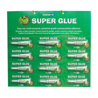 Glue Monster Superglue 12 x 3g