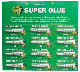 Glue Monster Superglue 12 x 3g