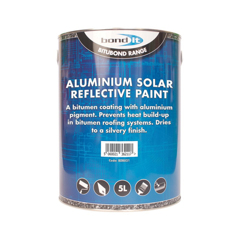 Aluminium Solar Reflective Paint A Light Heat Reflective