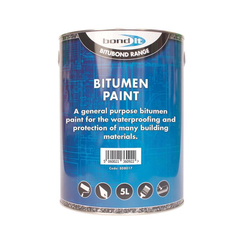 Bitumen Paint A Solvent Borne Bituminous Black Paint For
