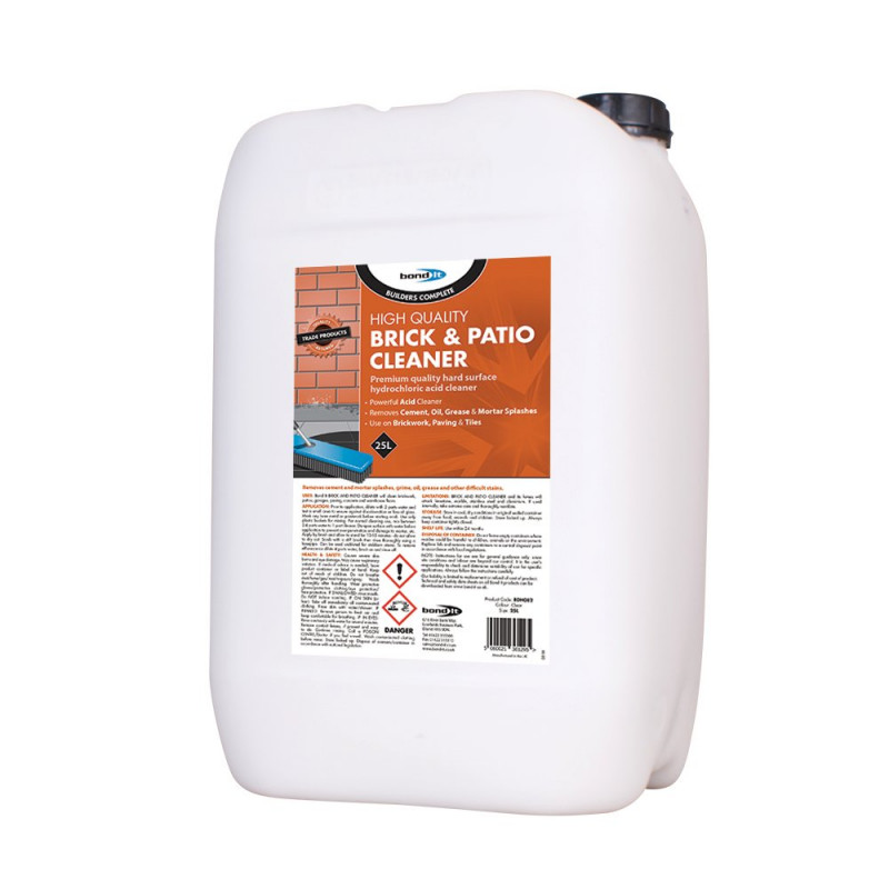 Brick & Patio Cleaner A powerful acid based cleaner