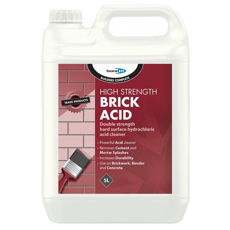 High Strength Brick Acid A Super Strength 18 Hydrochloric Acid
