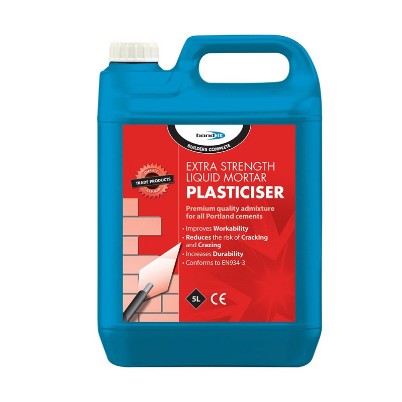 Liquid Mortar Plasticiser A Chemically Balanced