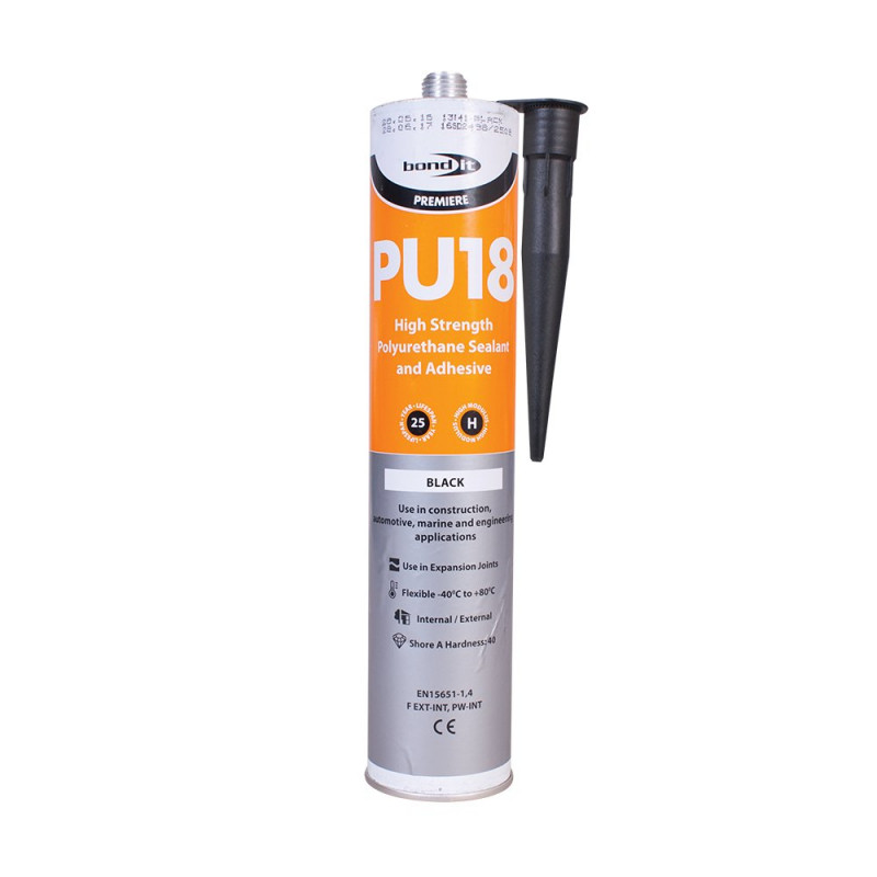 A One Part Moisture Curing Polyurethane Adhesive And Sealant With A Shore A Hardness Of 40 For The Construction And Transport Industries