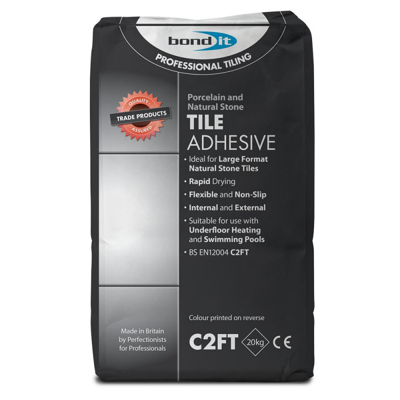 Porcelain And Natural Stone Tile Adhesive A Specially Formulated - Fast drying tile adhesive