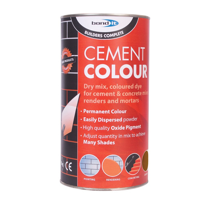 Powdered Cement Dye A range of easy-to-use, chloride-free permanent ...